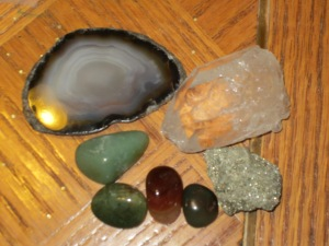 geodes, crystals, and polished stones from our beads and gems store downtown