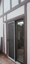 the French doors will be repleaced tomorrow, I hope!